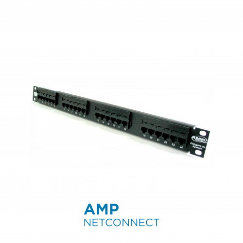 760237040	Patch Panel Cat.6, SL Series, 24 Port (1U)