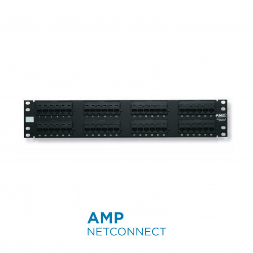 760237041 UTP Patch Panel Cat. 6, 110XC, 48 Port (2U)