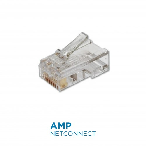 5-554720-3  RJ45 Modular Plug Cat.5, 8 Position, Unshield