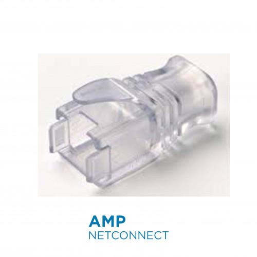 2153257-1Slim-Line Transparent Boot for Plug Cat.6