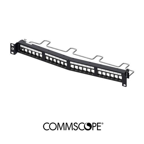 CPPR-SDDM-SL-1U-24 Patch Panel Hi-D Angle, SL Series, 24 Port, Unloaded (1U)