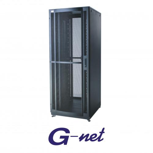 Curve Perforated Door Rack  27U,600x800